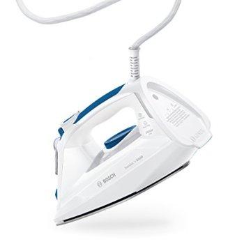 Bosch TDA302401W Dampfbügeleisen Sensixx'x DA30, weiß / smokey blau -