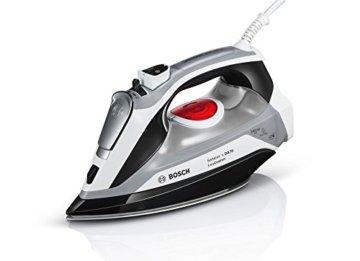 Bosch TDA70EASY Dampfbügeleisen Sensixx'x DA70 EasyComfort, 2400 W max, i-Temp, Dampfstoßmenge 200 g, weiß/schwarz -