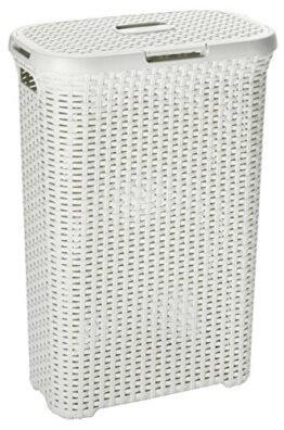 Curver 00709-885-00 Wäschebox Style, 40 L, creme -