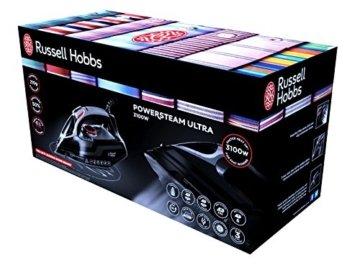 Russell Hobbs 20630-56 Powersteam Ultra Dampfbügeleisen, Keramiksohle, Extra-Dampfstoß von 210 g/min, Selbstreinigungsfunktion, 3100 W -