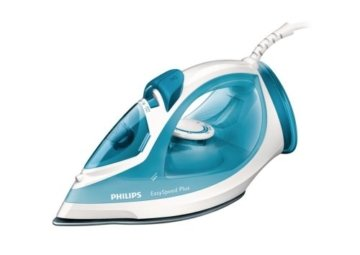 Philips GC2040/70 EasySpeed Plus Dampfbügeleisen (2100 W, Anti-Kalk) weiß -
