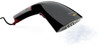 Philips GC332/87 Steam & Go 2in1 Dampfbürste (antihaftbeschichtete Smartflow Heizplatte, 1200W, Bürstenaufsatz) schwarz -