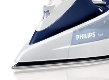 Philips GC4410/22 Azur Dampfbügeleisen (2400 W, SteamGlide-Dampfbügelsohle) weiß/blau -
