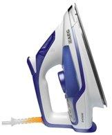 AEG Dampfbügeleisen 4Safety Precision DB 6150 (2400 Watt, 180g Dampfstoß, Resilium 500 Bügelsohle, Abschaltautomatik, Anti-Kalk System) blau/weiß -