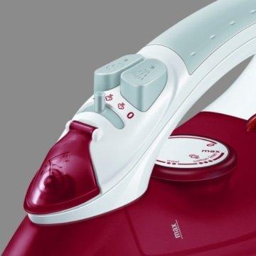 AEG DB 1380 Dampfbügeleisen (2400 Watt, stufenlose Temperaturwahl, Selbstreinigungsfunktion, kratzfeste Keramik-Bügelsohle) -