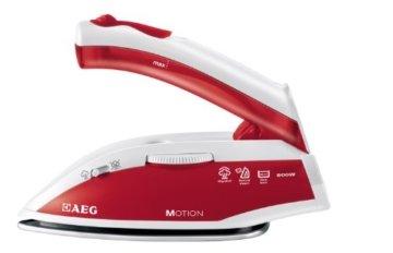 AEG DBT 800 Reise-Dampfbügeleisen Motion (Variabler und kontinuierlicher Dampf, Ergonomischer Klappgriff, inklusive Reisebeutel) -