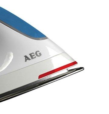 aeg quicksteam dbs3350 1 dampfb gelstation 2350 watt anti kalk system blau b geleisen. Black Bedroom Furniture Sets. Home Design Ideas