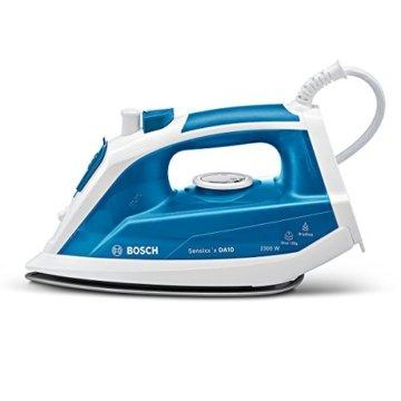 Bosch TDA1023010 Dampfbügeleisen Sensixx'x DA10 (2300 Watt max., Dampfstoß 120 g/min., Extra-Dampf 35 g/min.) weiß/smokey blau -