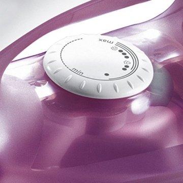 Bosch TDA2329 Dampfbügeleisen (2200 Watt max., Dampfstoß 70 g/min., Dampfleistung 22 g/min., 3AntiCalc Reinigungsfunktion,Palladium-glissée Bügelsohle) deep berry -