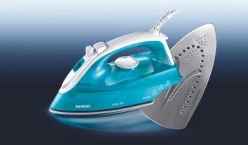 Bosch TDA2610 Dampfbügeleisen (2000 Watt max., Dampfstoß 90 g/min., Dampfleistung 30 g/min., 2 AntiCalc) weiß/blau -