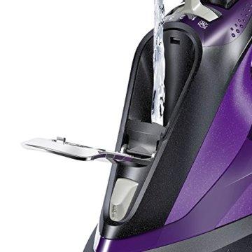 Bosch TDA703021I Dampfbügeleisen Sensixx`x DA70 i-Temp (3000 Watt max., Dampfstoß 200 g/min., Dampfleistung 50 g/min.) anthrazit/magic violett -
