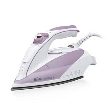 Braun  Bügeleisen TS505 purpur/weiß -