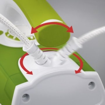 Severin BA 3242 Dampfbügelautomat / 2200 Watt / 200 ml Kapazität / Edelstahlsohle / weiß-grün -