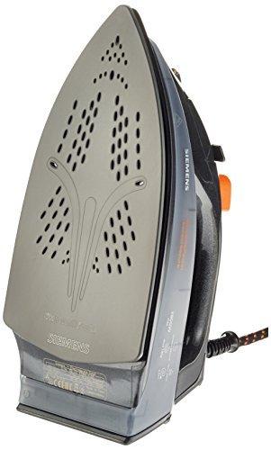 Siemens TB76XTRM Dampfbügeleisen extreme power sensorSecure, anthrazit metallic / coral orange -