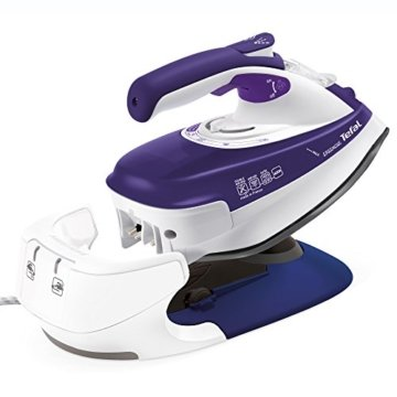 Tefal FV9962 Kabelloses Dampfbügeleisen Freemove, violett -