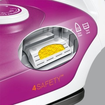 AEG DB 5110MO Dampfbügler 4Safety (3-fache Sicherheitsabschaltung, Anti-Kalk System, 2100 Watt) Morganite -