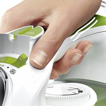 Bosch TDA502412E Dampfbügeleisen Sensixx'x DA50 ProEnergy (2400 Watt max., Dampfstoß 180 g/min., Dampfleistung 40 g/min.) weiß/grün -