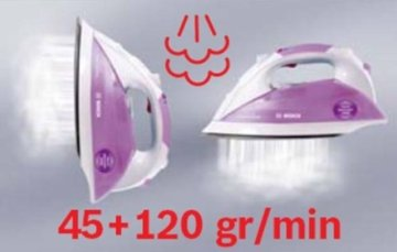 Bosch TDS1112 Kompakt-Dampfstation, sensixx steam generator, max. 2400 Watt -