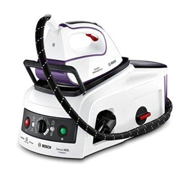 Bosch TDS222510H Dampfstation Senxixx ProHygienicm, 2500 W max, 350 g Tiefendampf, Hygiene Programm, i-Temp, weiß/magic violett -