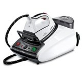 Bosch TDS372817A Dampfstation SilenceComfort 300, 2800 W, 5,5 bar, Secure-Abschaltautomatik, weiß / schwarz -