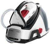 Bosch TDS6040 Dampfstation Serie 6 EasyComfort, 380 g Tiefendampf, Abschaltautomatik, i-Temp, 2400 W, 5,8 bar, weiß / schwarz -