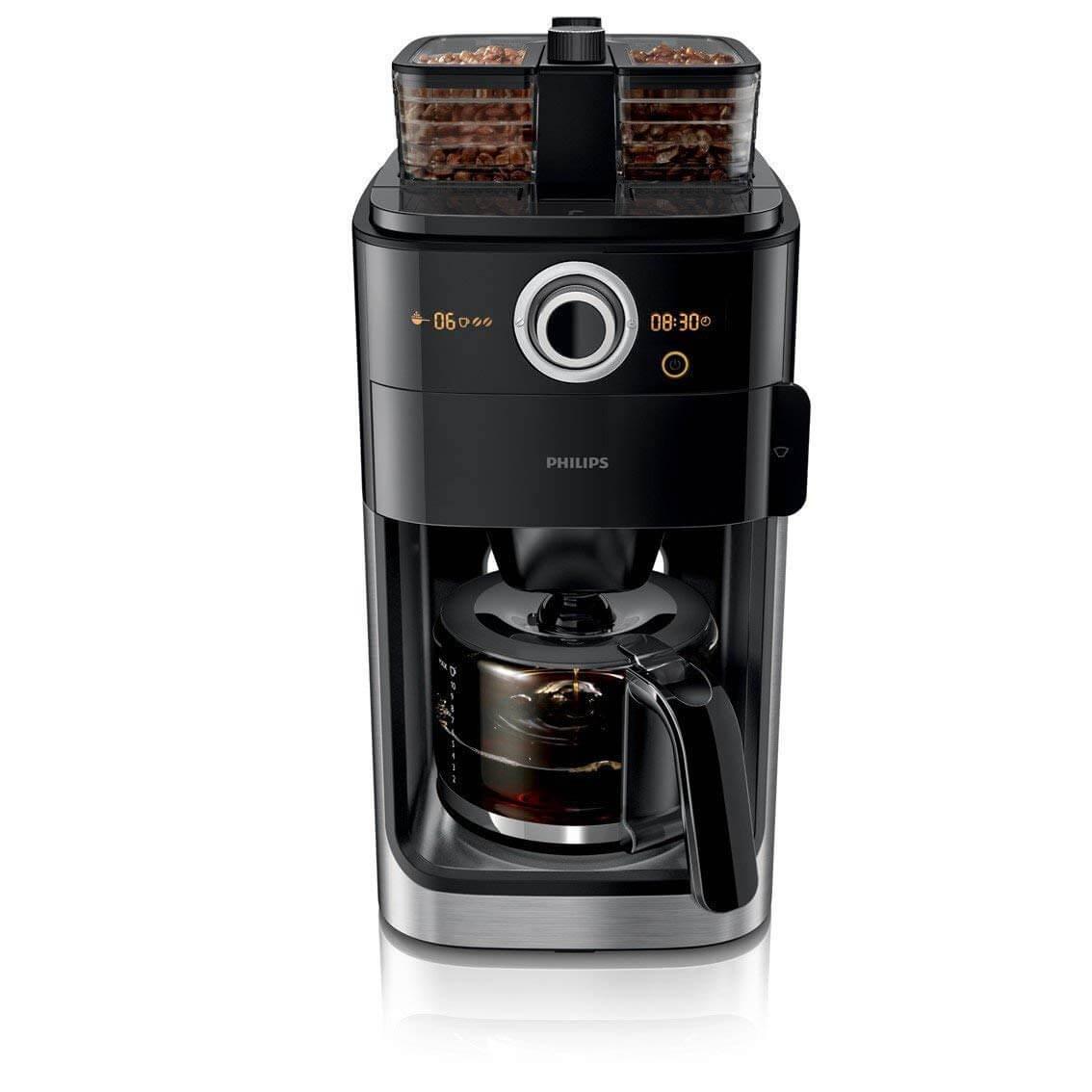 Kaffeemaschine mit für Bohnen