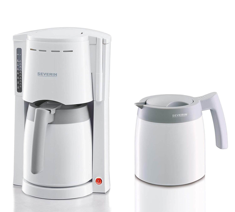 Kaffeemaschine mit Thermoskanne und abnehmbaren Wassertank
