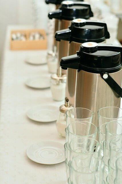 Kaffeemaschine mit Pumpkanne