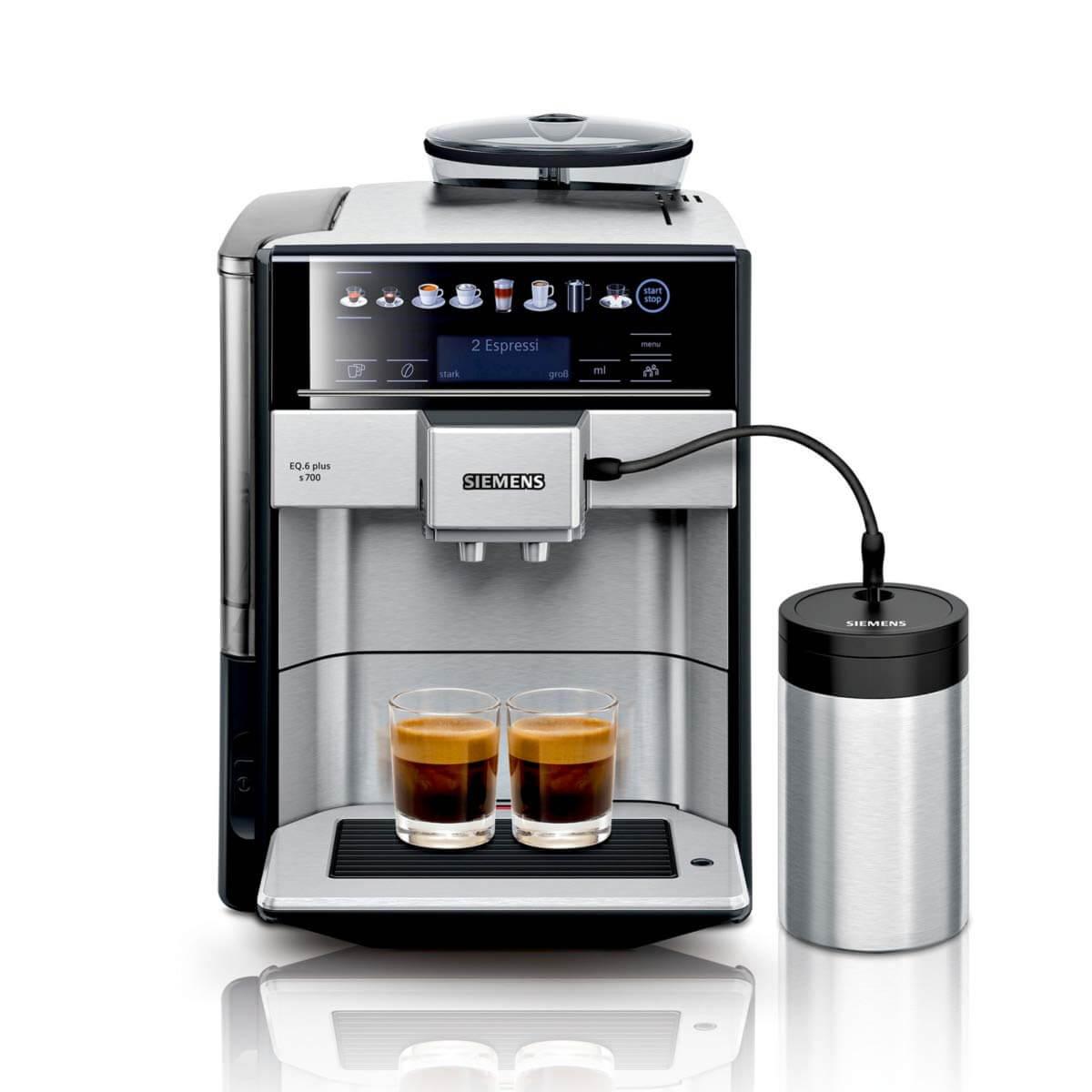 Kaffeevollautomat guter Milchschaum