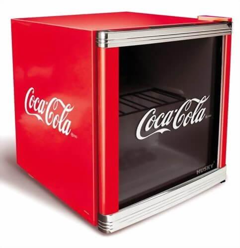 Kühlschrank mit Glasfront