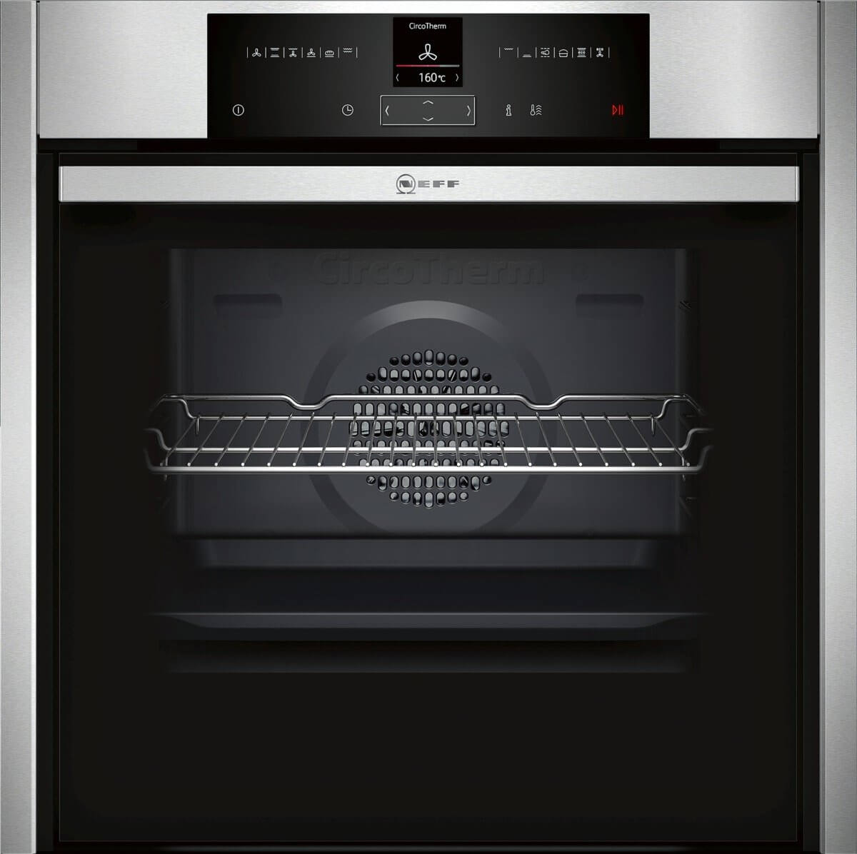 Backofen Neff Pyrolyse Test