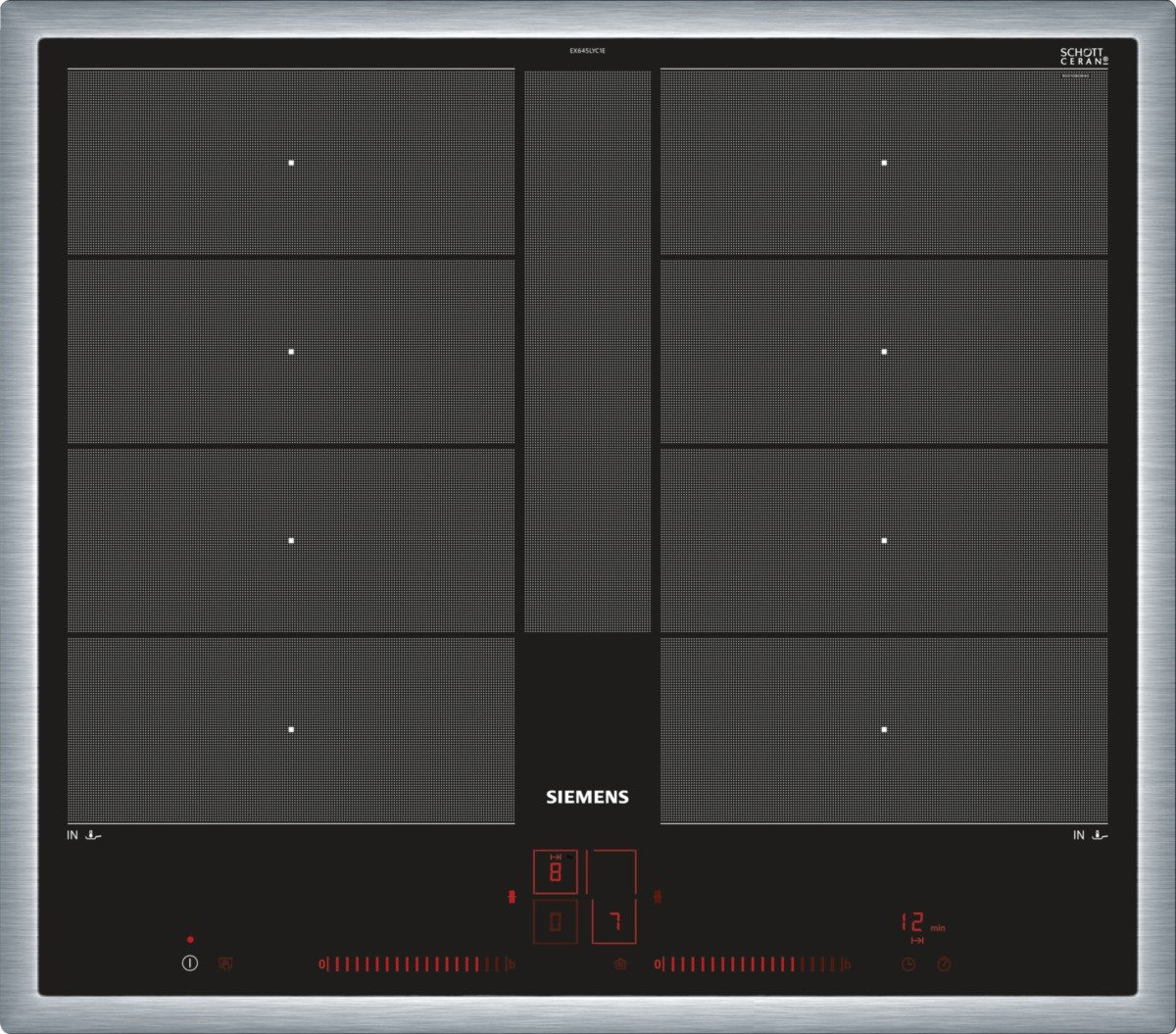 Siemens EX645LYC1E iQ700 Test