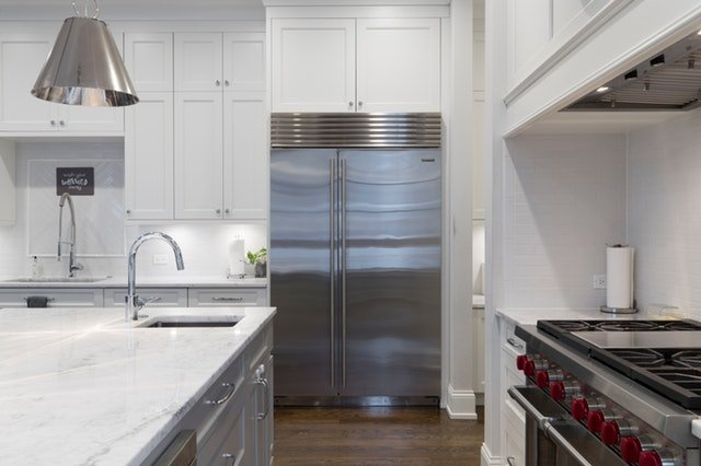 Doppeltür Kühlschrank
