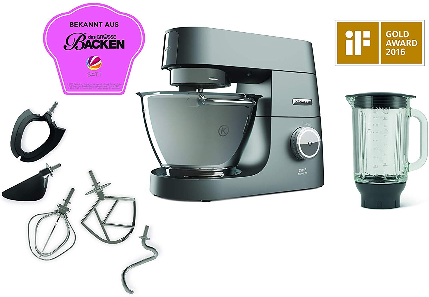 Kenwood Chef Titanium KVC7320S
