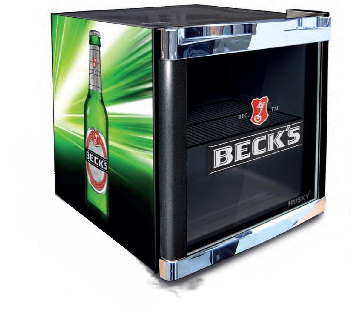 Bierkühlschrank Becks Retro