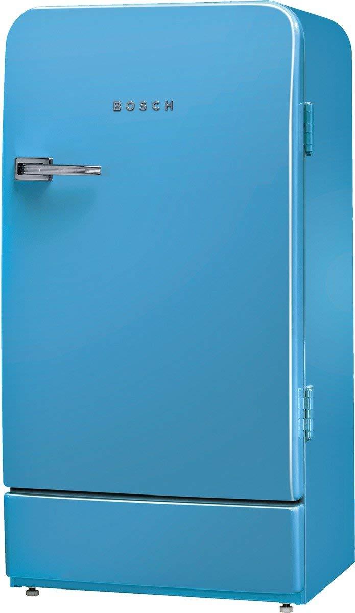 Bosch Retro Kühlschrank Blau