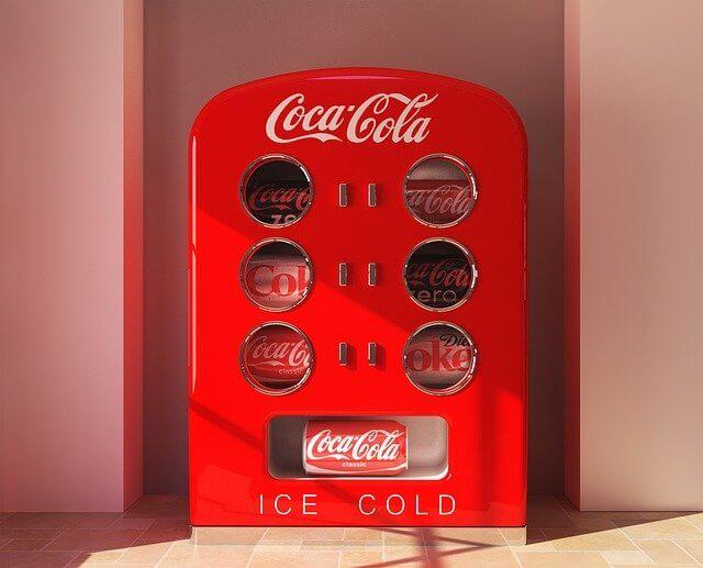 Kühlschrank Rot