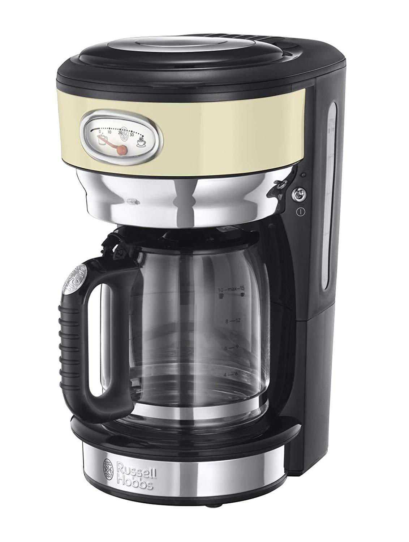 Vintage Kaffeemaschine Beige